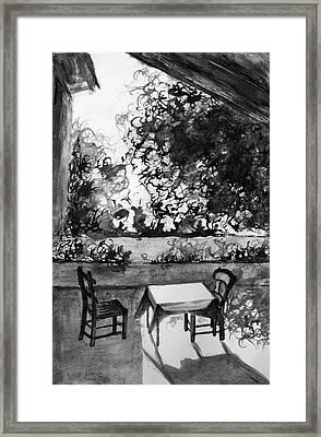 Rendezvous Framed Print by Uma Krishnamoorthy
