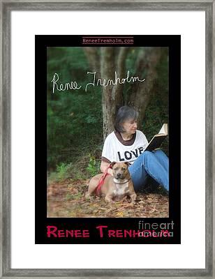 Renee Trenholm . Signed Framed Print