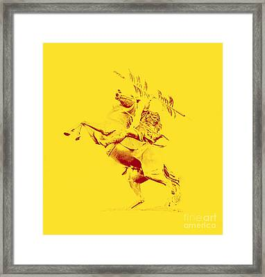 Renegade And Chief Osceola Framed Print by Paul  Wilford