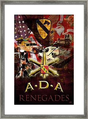 Renegades Framed Print by Michael Figueroa