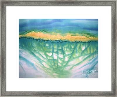 Renewal Framed Print by Addie Hocynec