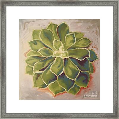 Framed Print featuring the painting Renewed by Erin Fickert-Rowland