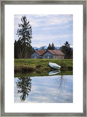 Renewed Hope - Hope Valley Art Framed Print by Jordan Blackstone