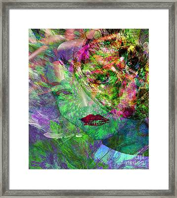 Renewed Spirit In The Lord Framed Print by Fania Simon