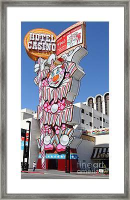 Reno . Circus Circus Casino Framed Print by Wingsdomain Art and Photography