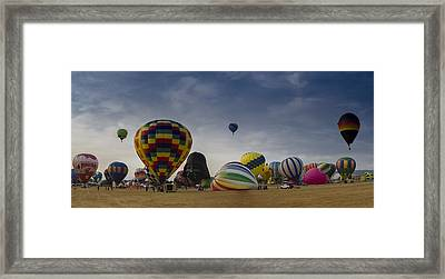 Reno Balloon Race 2015 Framed Print by Rick Mosher