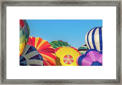 Reno Balloon Races Framed Print by Bill Gallagher