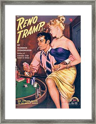 Reno Tramp Framed Print