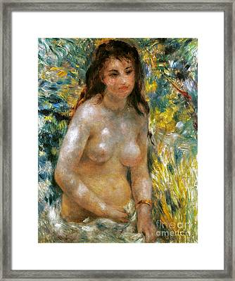 Renoir: Torso, C1876 Framed Print by Granger