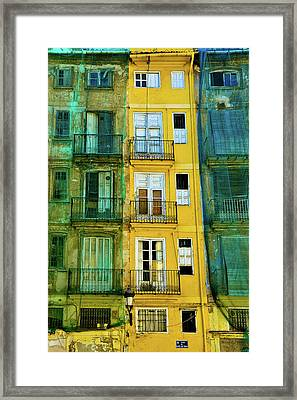 Framed Print featuring the photograph Renovation  by Harry Spitz
