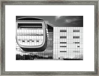 Rensselaer Polytechnic Institute Empac Framed Print by University Icons