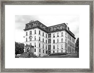 Rensselaer Polytechnic Institute West Hall Framed Print by University Icons