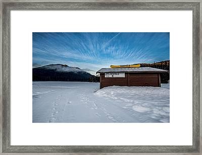 Rentals Framed Print