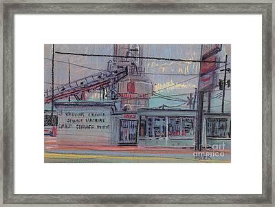 Repair Shop Framed Print by Donald Maier