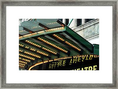 Repeat Performance Framed Print by Toni Jackson