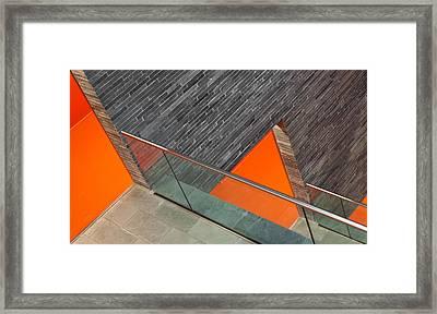 Repeat The Orange Framed Print by Jeroen Van De Wiel