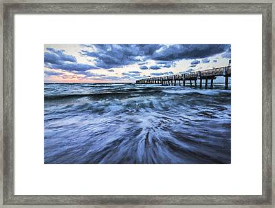 Repeated Morning IIi Framed Print