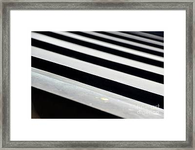 Repeating Patterns  Framed Print by Floyd Menezes