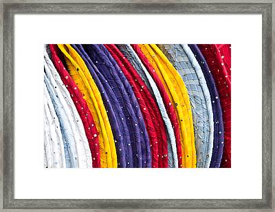 Repeating Rims Framed Print by Walter Beck