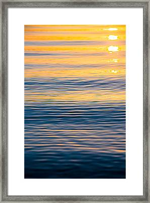 Repeating Tranquility Framed Print