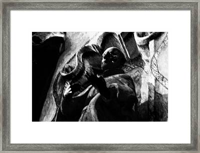 Repent Framed Print