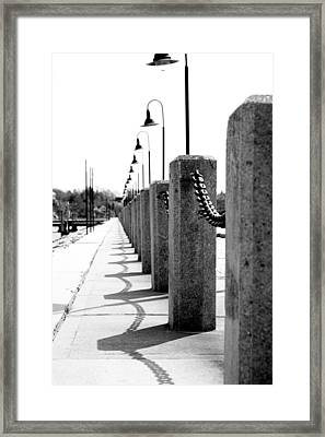 Repetition Framed Print by Greg Fortier