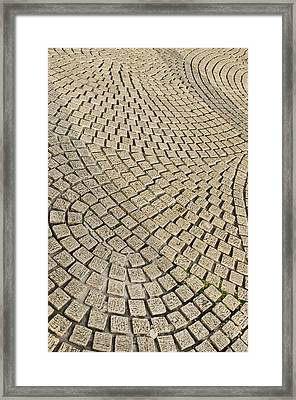 Framed Print featuring the photograph Repetitions by Wanda Krack