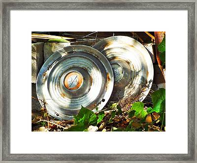 Replaced With Spinners Framed Print