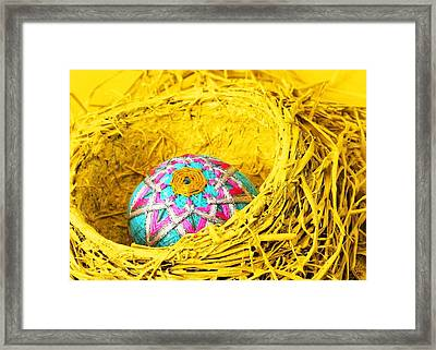 Replacement Egg Framed Print