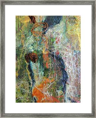 Repose Framed Print by Gail Butters Cohen