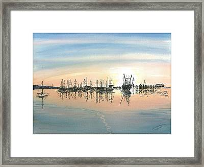 Repose II Framed Print