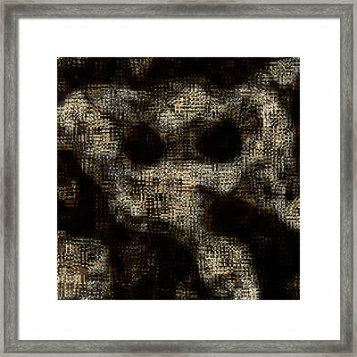 Repressed Emotions Framed Print by Vic Eberly