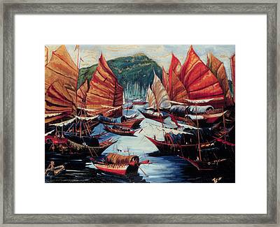 Repulse Bay  Framed Print by Ione Citrin