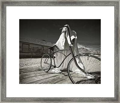 Requesting Permission Framed Print by Mike McMurray