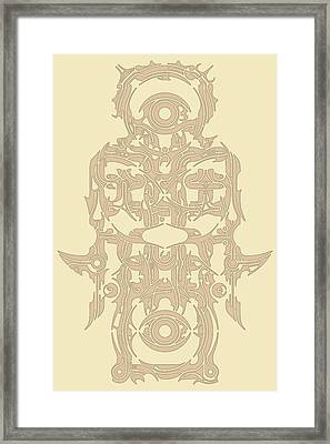 Requiem Vii Framed Print by David Umemoto