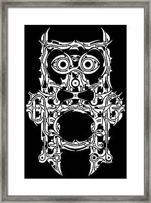 Requiem Viii Framed Print by David Umemoto