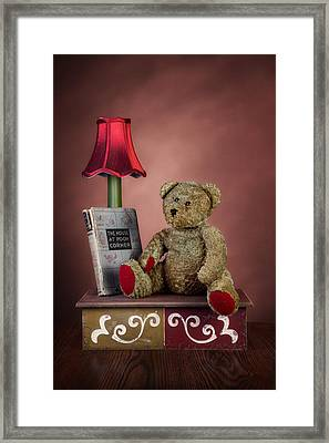 Required Reading Framed Print by Tom Mc Nemar
