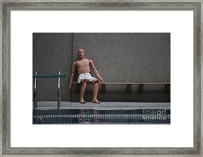 Rescue Dummy Framed Print