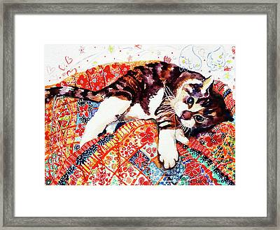 Ficken Kitten Framed Print