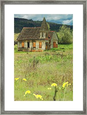 Reservation Church 3 Framed Print by Dale Stillman