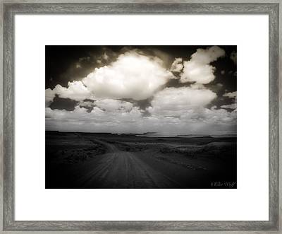 Reservation Road Framed Print