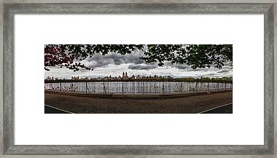 Reservoir Panorama Framed Print