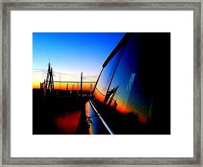 Reset Framed Print by Erin Brady