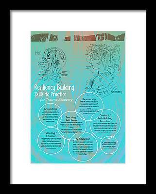 Ptsd Framed Prints