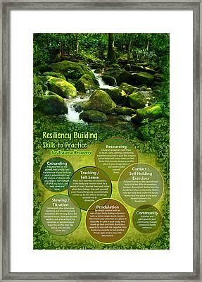Resiliency Forest Framed Print
