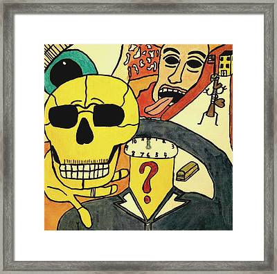 Resist The Norm Framed Print by Paulo Guimaraes
