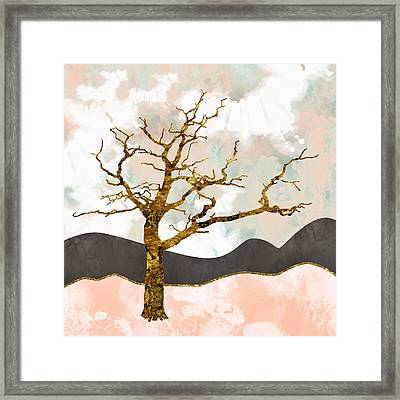 Resolute Framed Print