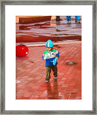 Resolute Framed Print by Snake Jagger