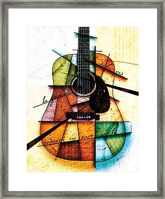 Resonancia En Colores Framed Print
