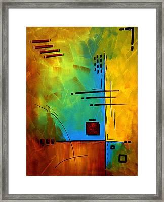 Resonating By Madart Framed Print